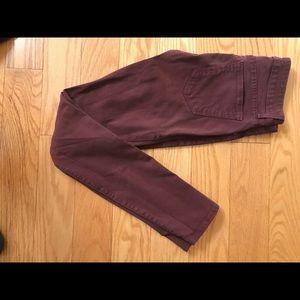 Rich & Skinny Maroon Skinny Jeans like new